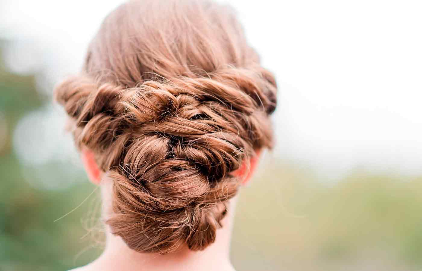 Peinado recogido para tu boda