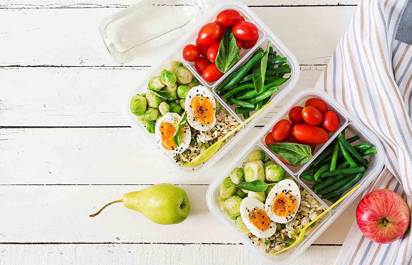 Ahorro con platos vegetarianos