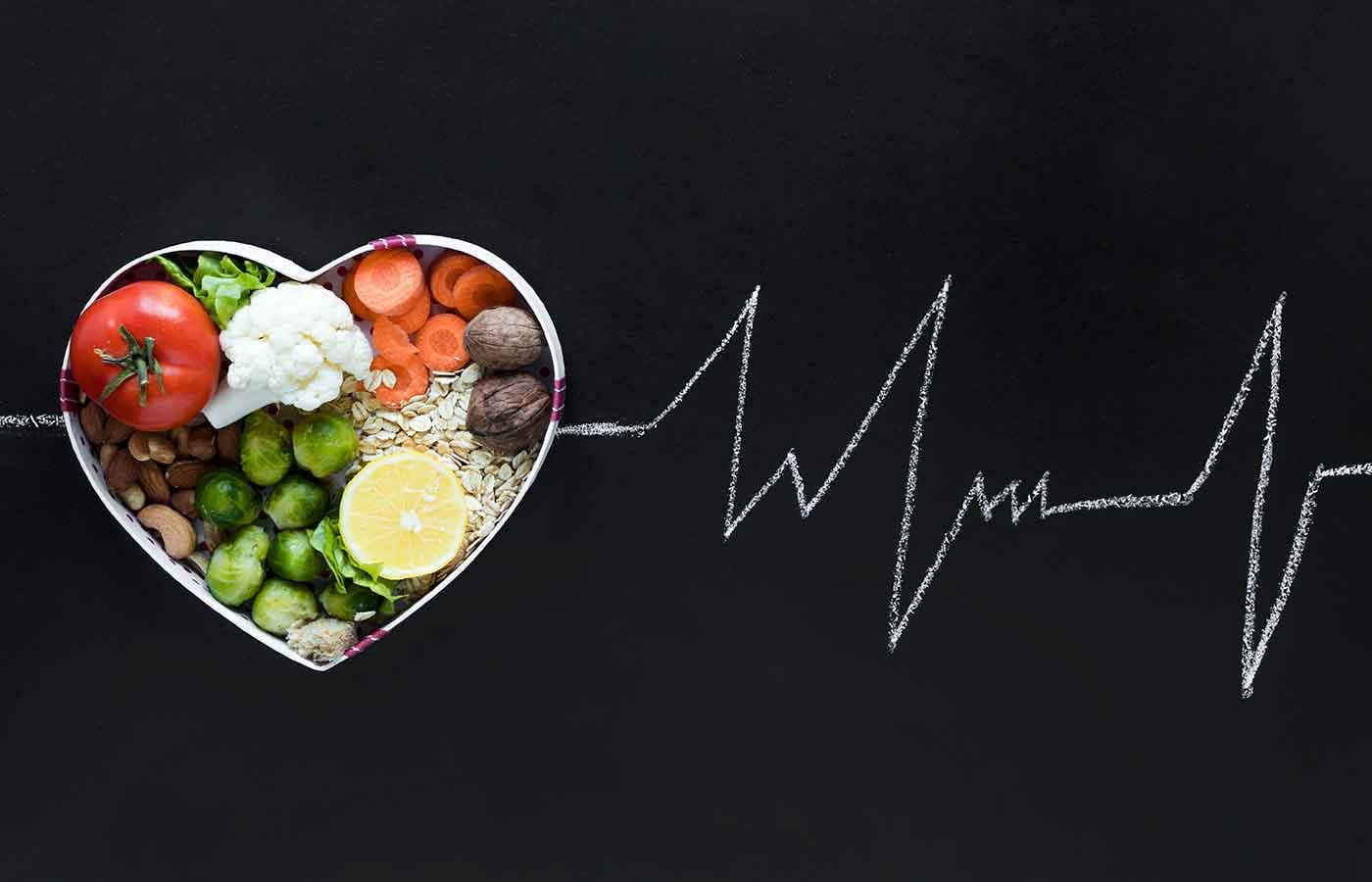 Evitar enfermedades cardiovasculares con la dieta veg