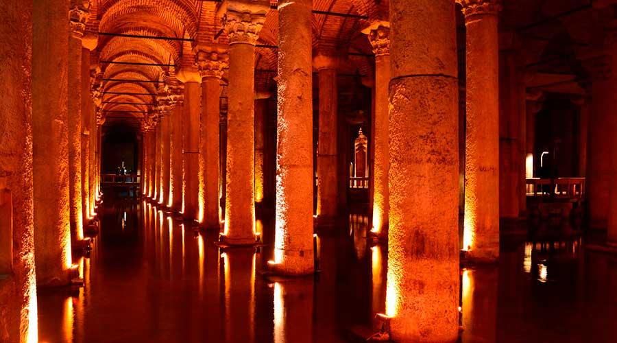Visitar Cisterna Basílica