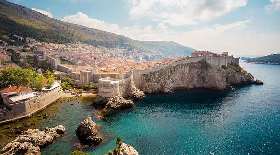 Dubrovnik escenario de Juego de Tronos