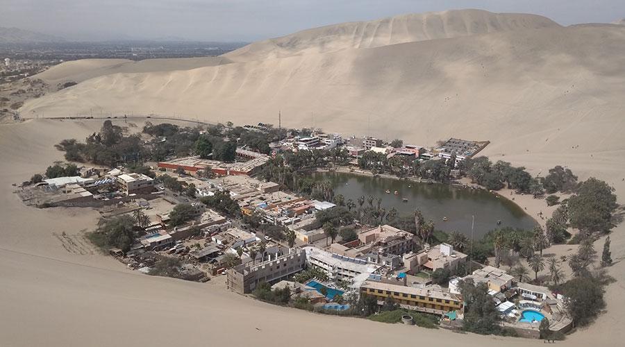 Desierto en Perú