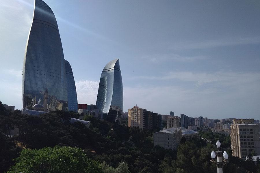 Bakú Capital de Azerbaiyan