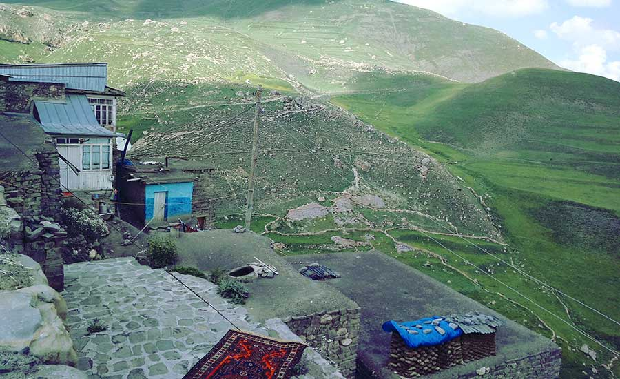Pueblo más alto de Azerbaiyan