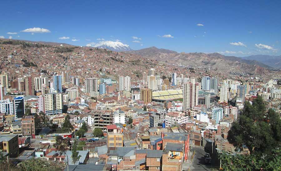 Mirador Killi Killi en La Paz (Bolivia)