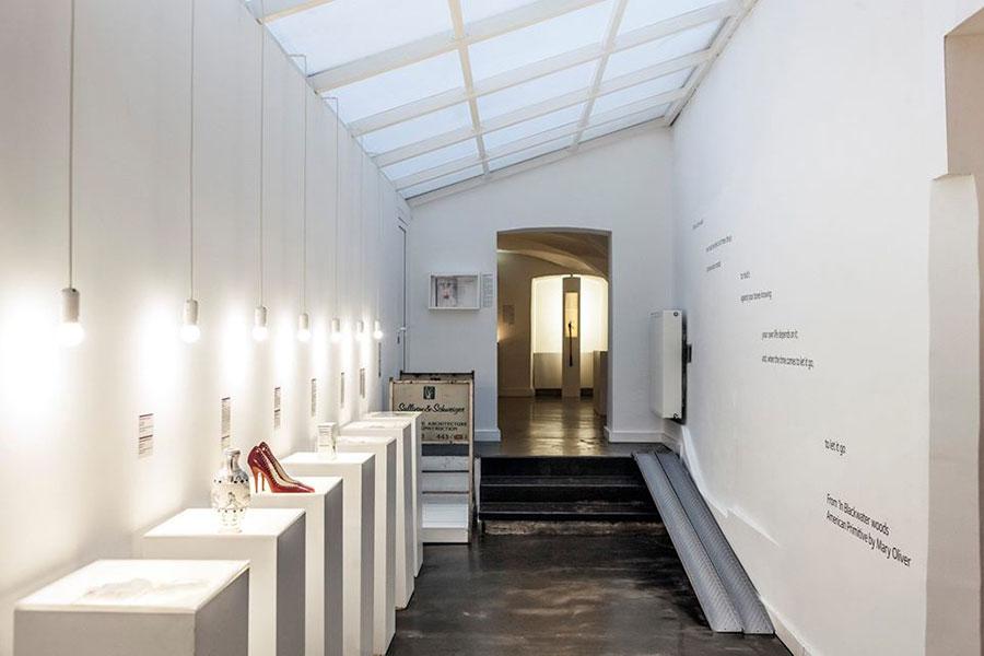 Interior Museo de las Rupturas