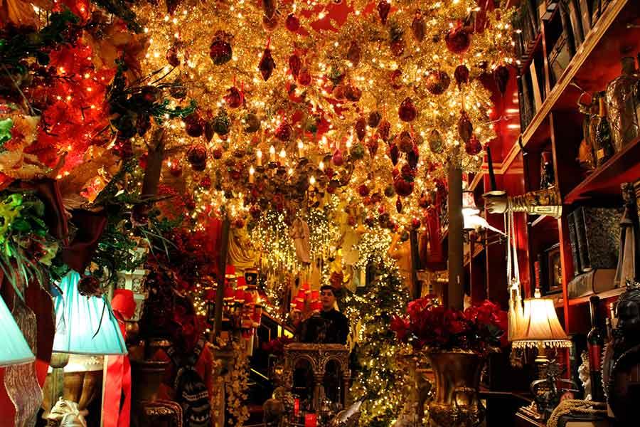 Decoración Navideña en Atenas