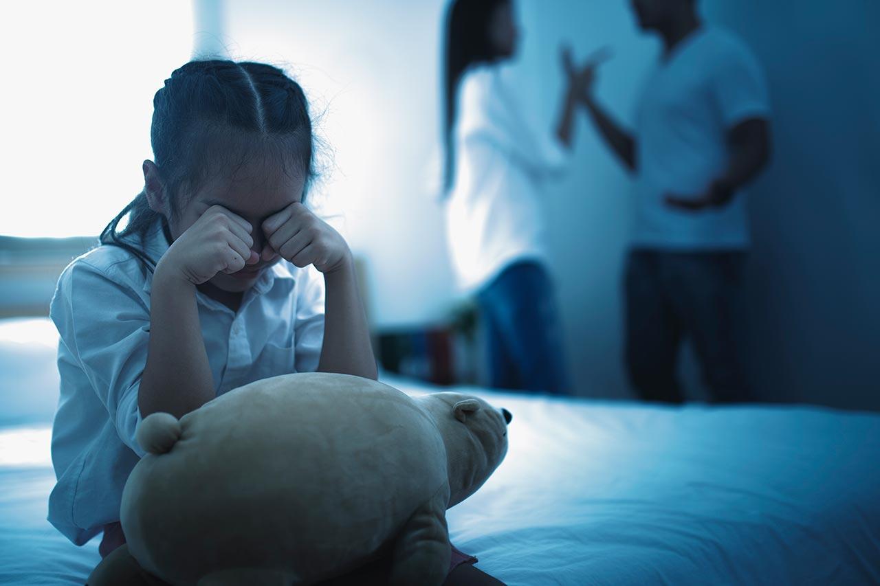 El papel de los hijos en un divorcio