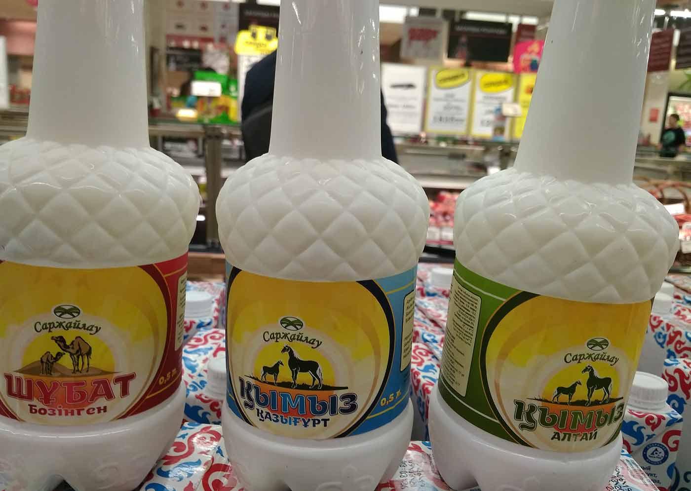 Leche de Yegua y leche de camella