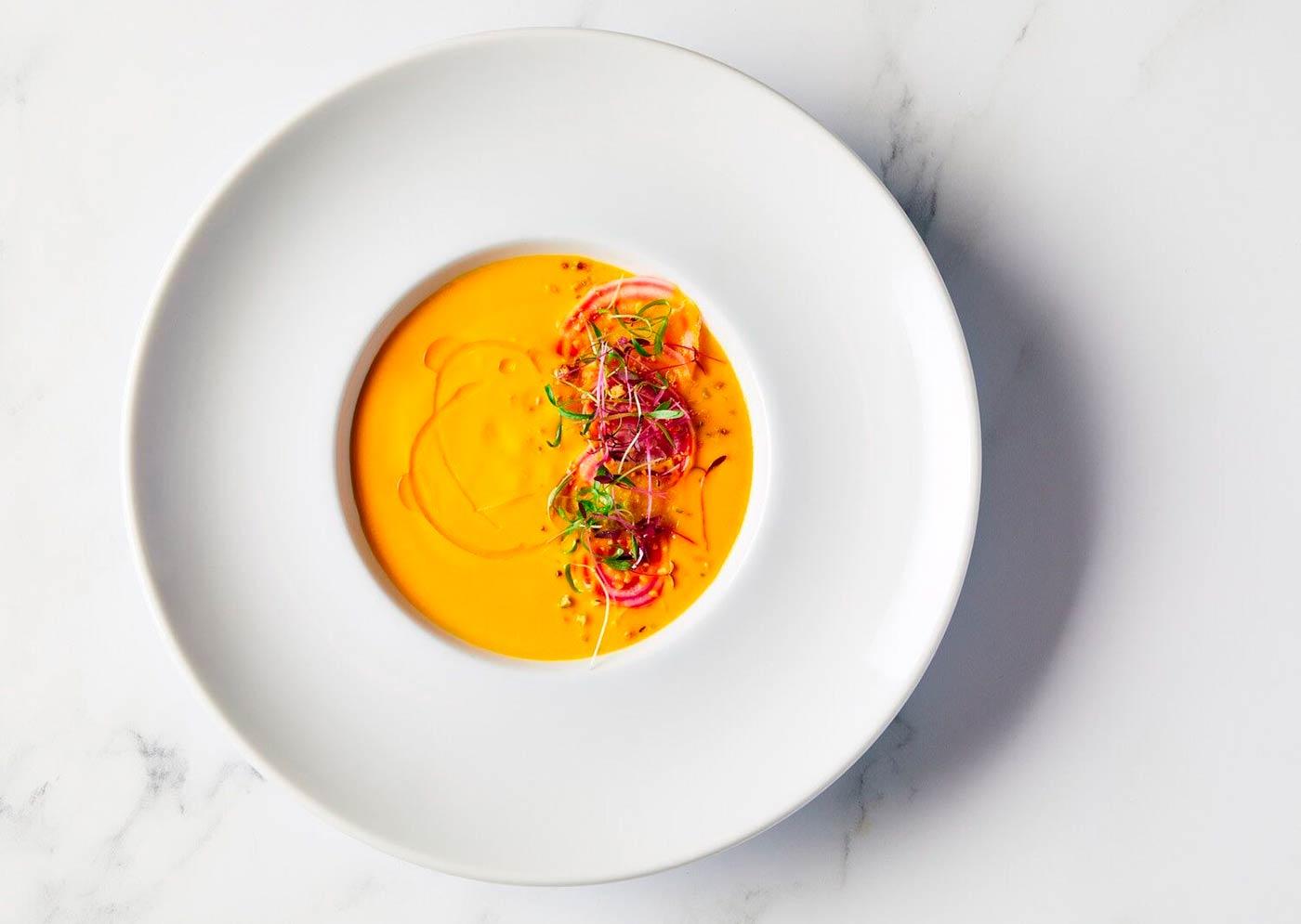 Sopa Vegan en los Globos de Oro