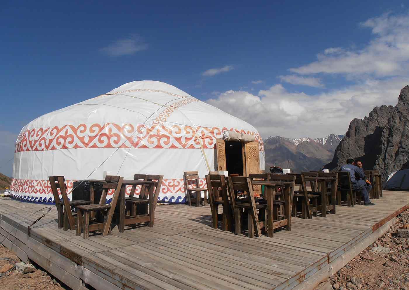 Yurta vivienda nómada