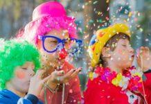 Vivir el carnaval de niños