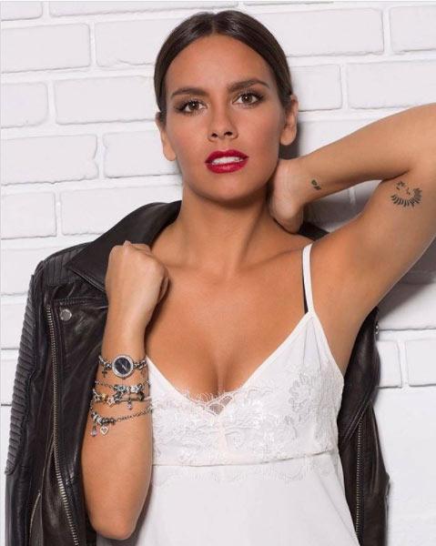 Tatuaje en brazo Cristina Pedroche