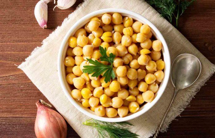 Receta de garbanzos vegetarianos deliciosa