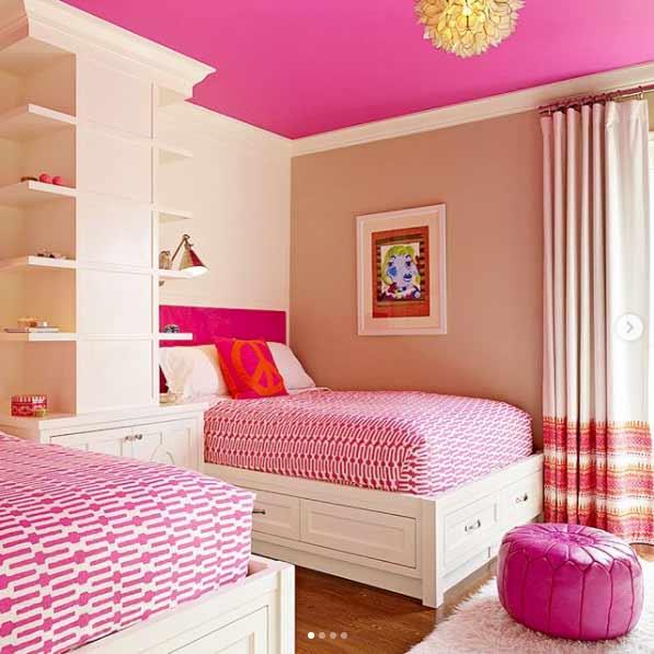 Cambiar el color del techo en la decoración de casa