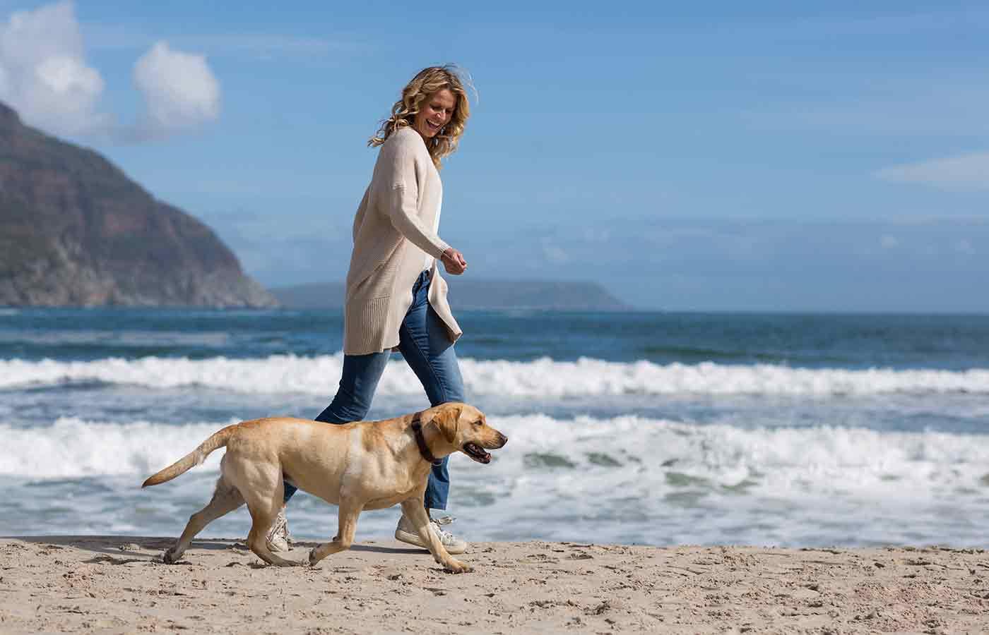 Caminar diariamente con tu mascota