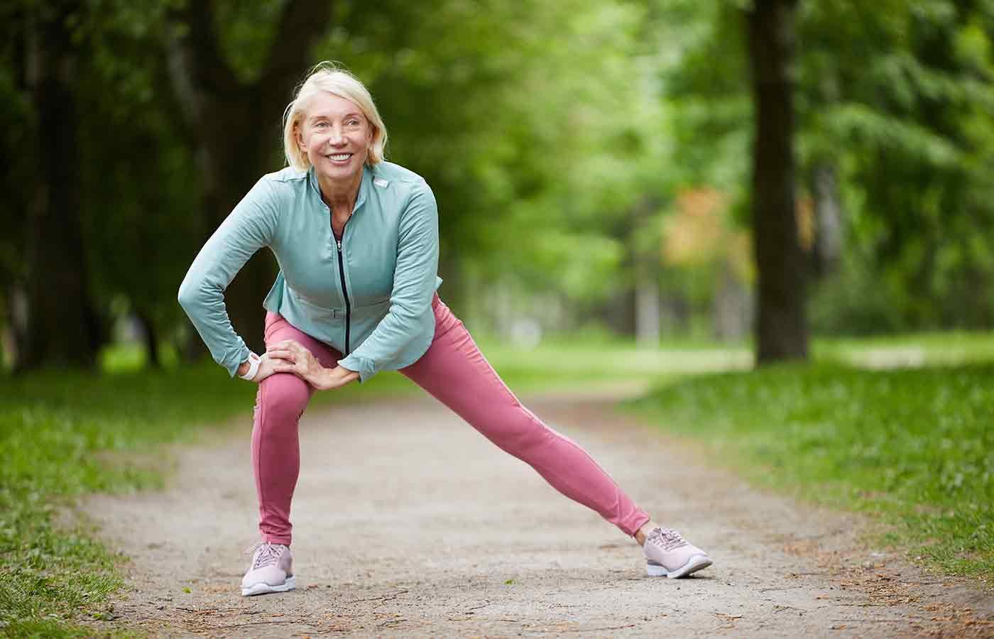 Caminar a diario evita el envejecimiento
