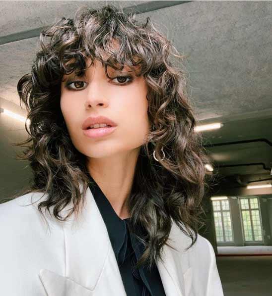 La modelo Ana Arto luce un corte bob en instagram