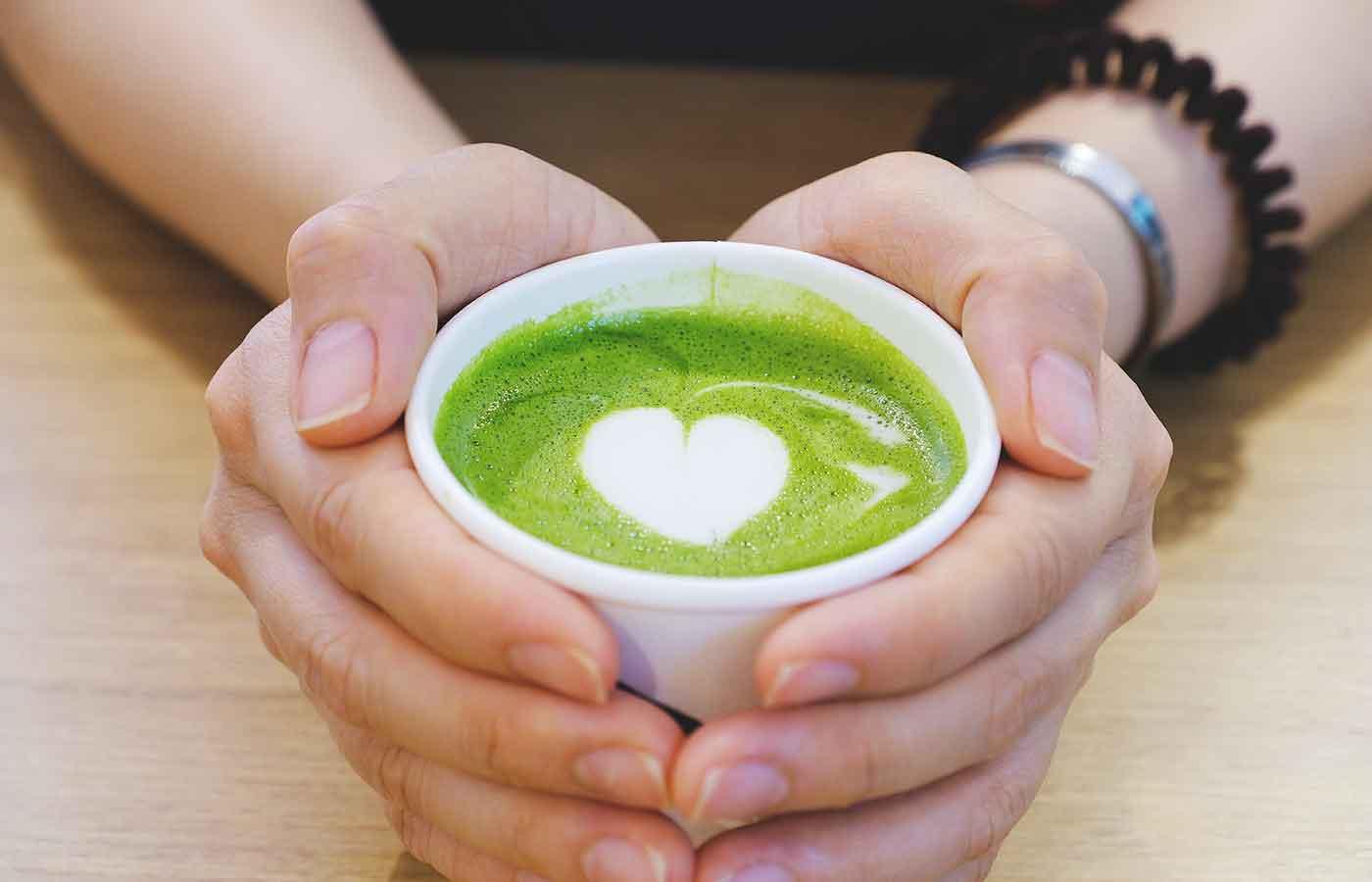 El té de matcha previene enfermedades cardiacas
