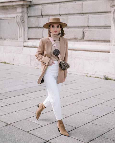 Alexandra Pereira luce pantalón alto ideal para parecer más delgada