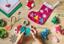 Hacer adornos navideños con hijos y pasarlo genial